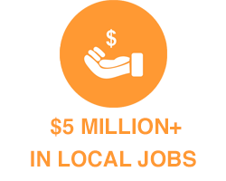 $5 Million in Local FL Jobs