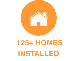 125+ Homes Installed