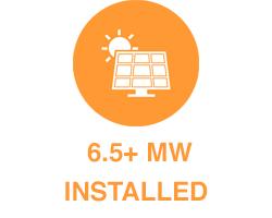 6.5 M Solar Installations