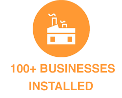 100+ Businesses Installed