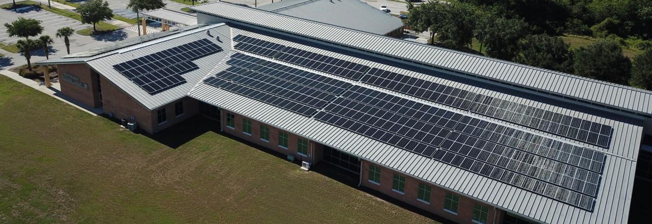 Solar Array in Hillsborough County