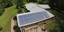 North Central Florida home with solar system