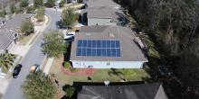Solar on home Gainesville Florida