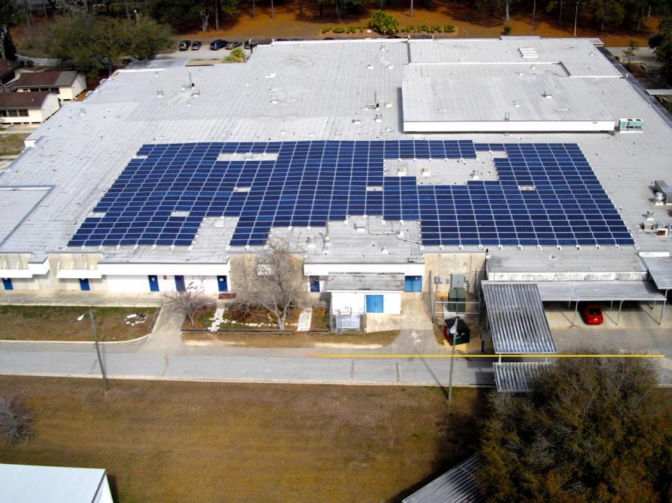 Fort Clarke Middle School Solar Project