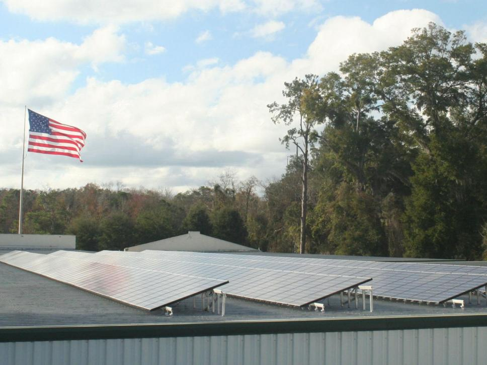 interstate mini storage solar project