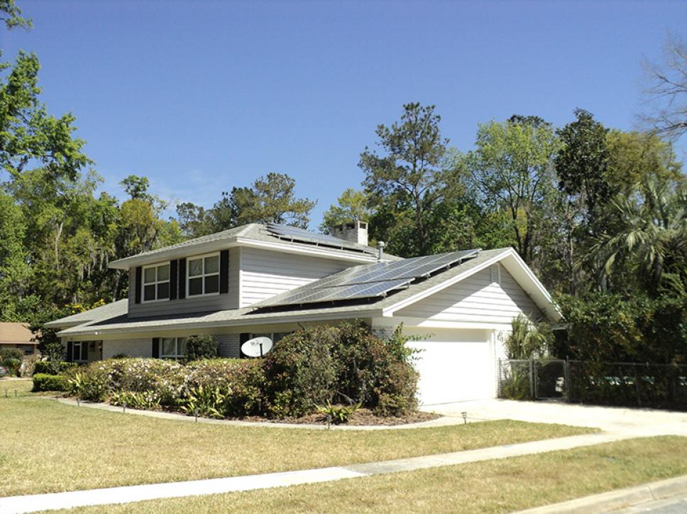 Residential solar panel installation in Florida by Solar Impact