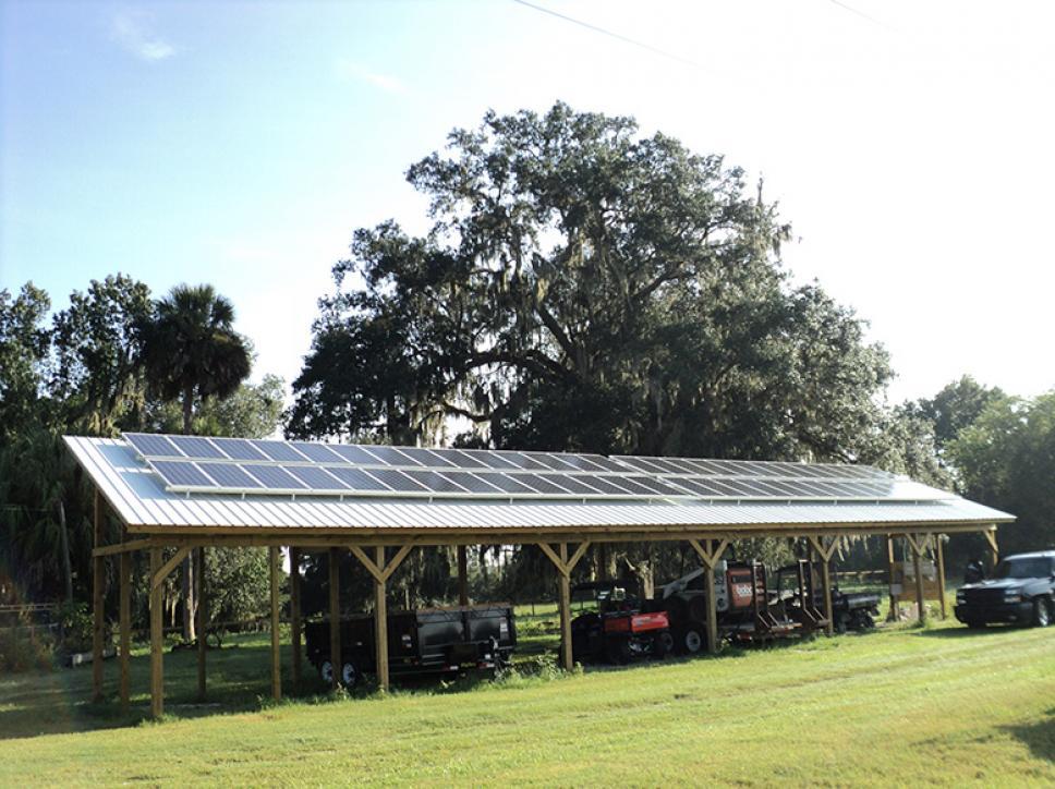 Solar on home 18