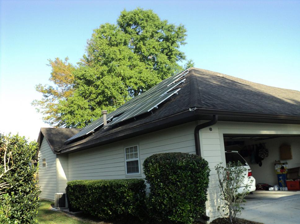 Solar on home 20