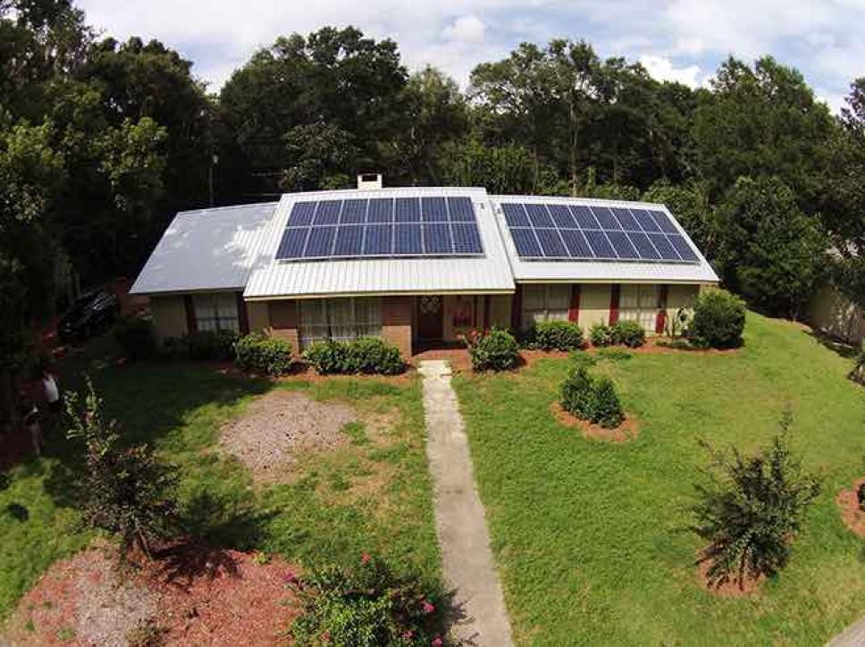 Solar on home 9