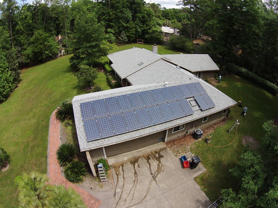 Solar on home 8
