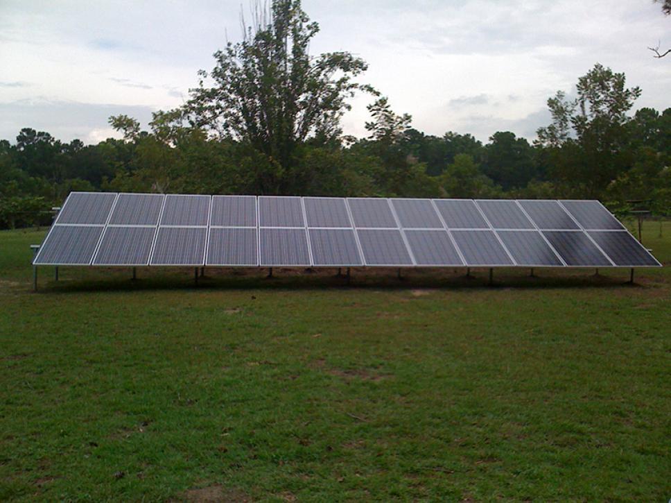 Solar on property 2