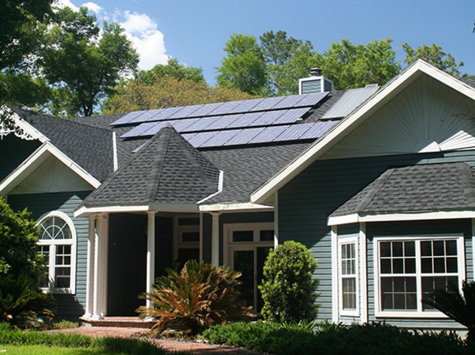 Solar on home 10