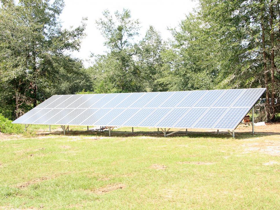 Solar on property