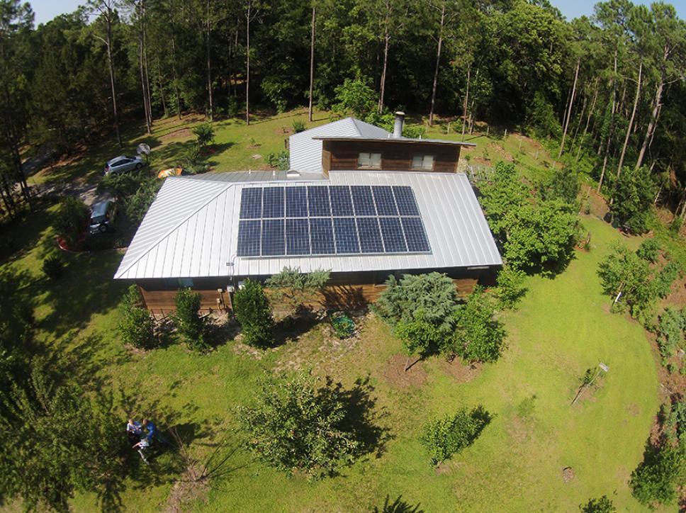 Solar on home 12