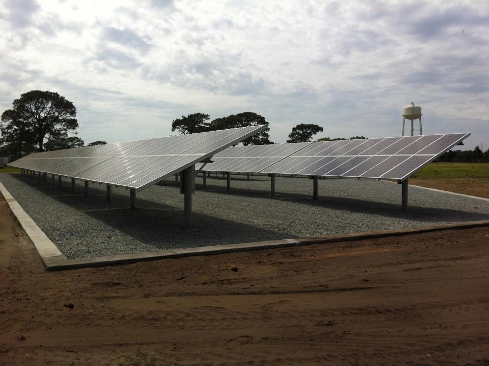 tyndall afb solar project